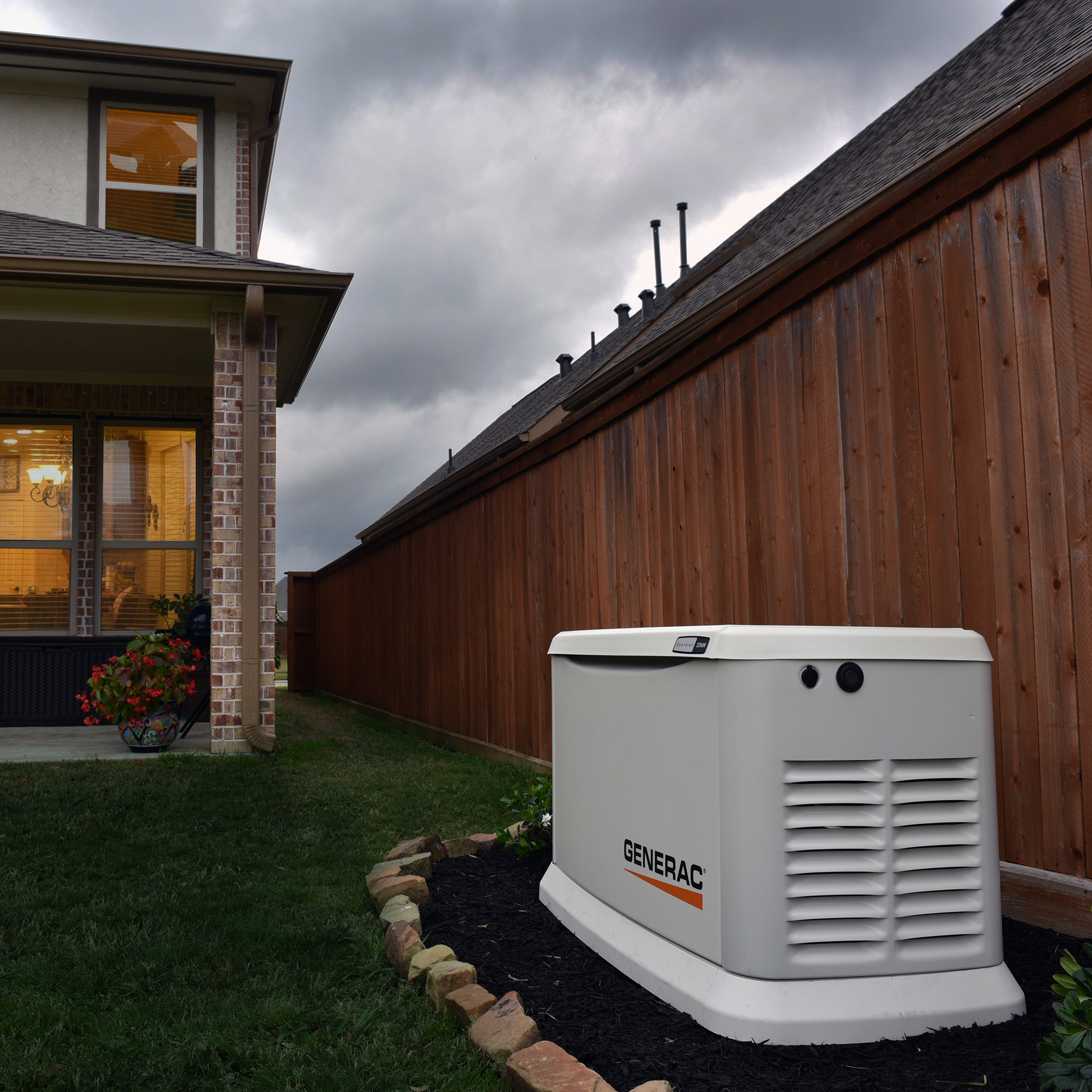 Home generators size